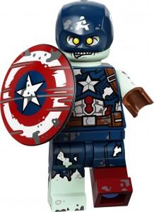 Конструктор LEGO Капітан зомбі Америка