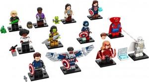 Конструктор LEGO Мініфігурки - серія Marvel Studios - Повна