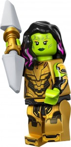 Конструктор LEGO Гамора з Клинком Таноса