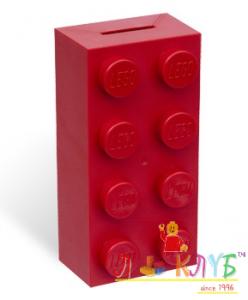 Скарбничка в вигляді кубика Лего 2x4