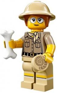 LEGO Collectable Minifigures Палеонтолог