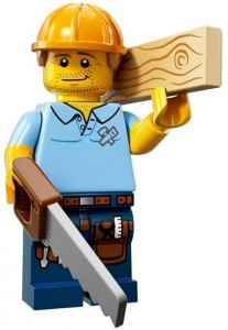LEGO Collectable Minifigures Тесляр