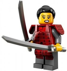 LEGO Collectable Minifigures Самурай
