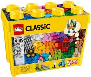 Конструктор LEGO Classic Коробка кубиків LEGO® для творчого конструювання, великого розміру